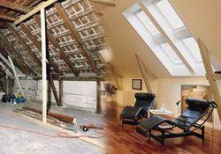 Dachausbau: Neuer attraktiver Wohnraum durch Dachausbau