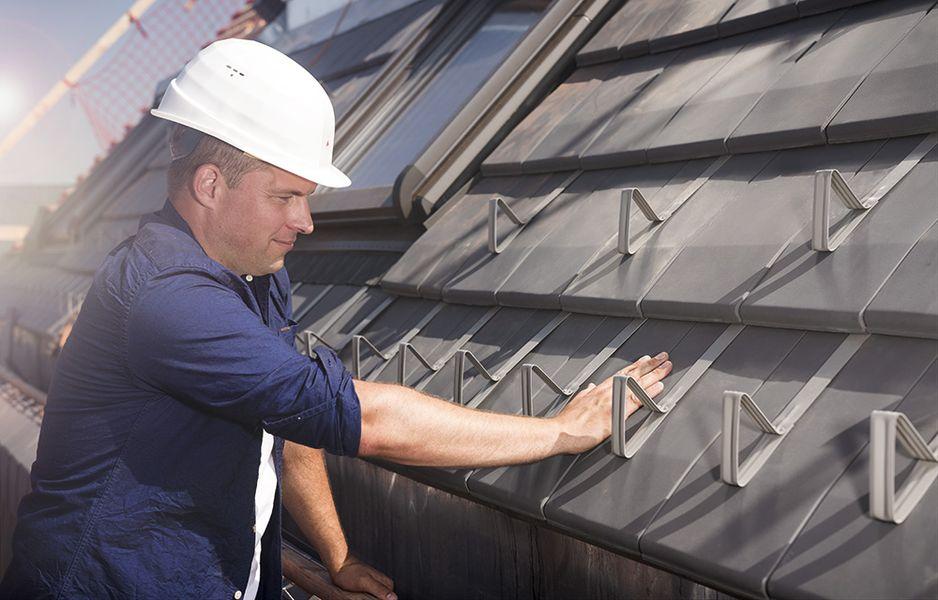 Garantie fürs Dach