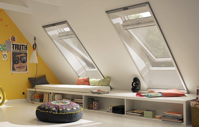 Insektenschutz fürs Dachfenster