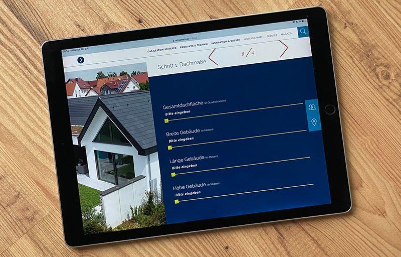 Kostenrechner fürs Dach