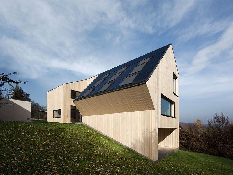 Wohnexperiment in Österreichs VELUX Sunlighthouse endet mit positiver Energiebilanz