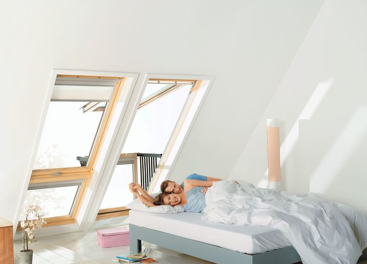 Dachwohnfenster zum Wohlfühlen