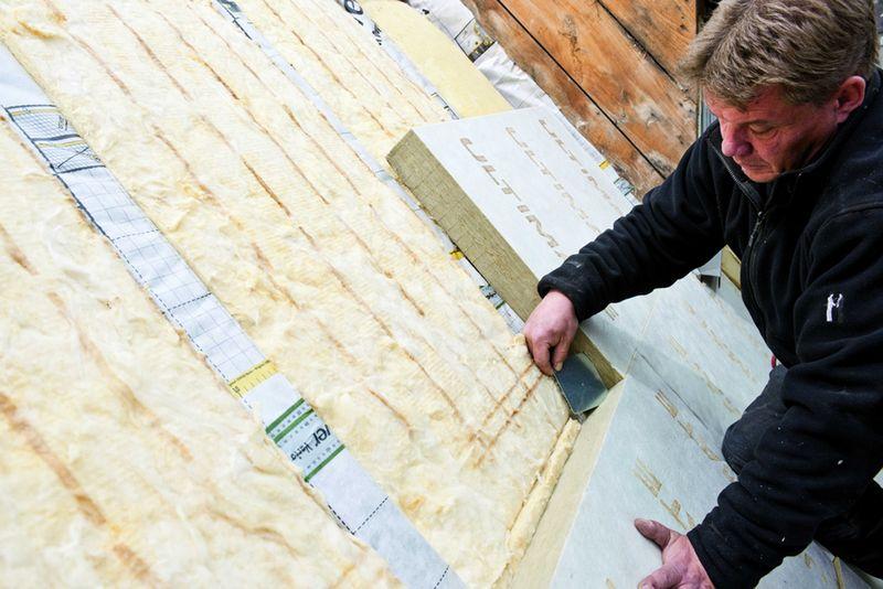 Dämmarten: Der Weg zum Nullenergiehaus beginnt beim Dach