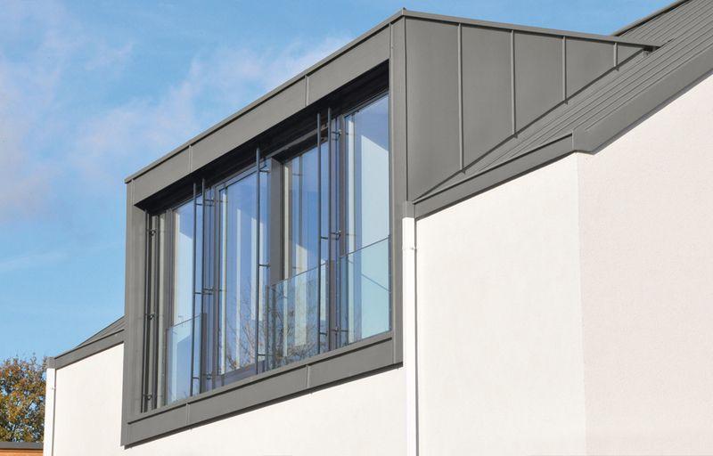 Sehr Dacheindeckung mit Titanzink - Zink - Eindeckung RT52