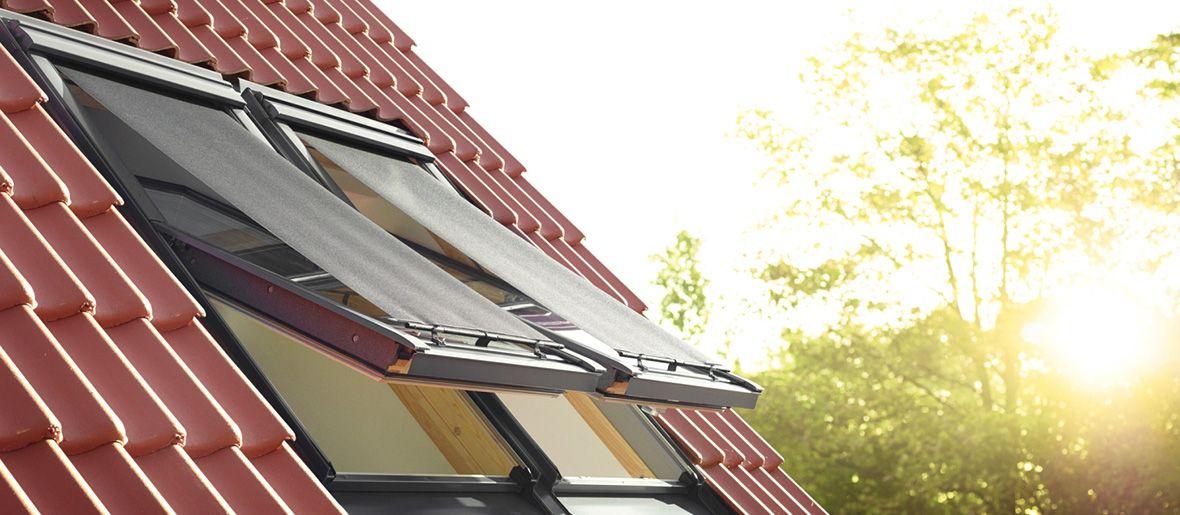 Hitzeschutz im Dachgeschoss