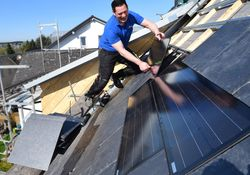 Sparen mit Solarthermie