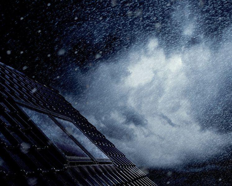 Mit VELUX Dachfenstern kann der Regen ruhig kommen!