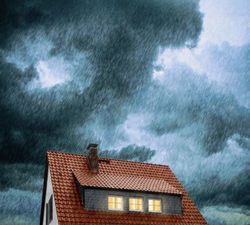 Dachkonstruktion: Echte Ruhe vor dem Sturm
