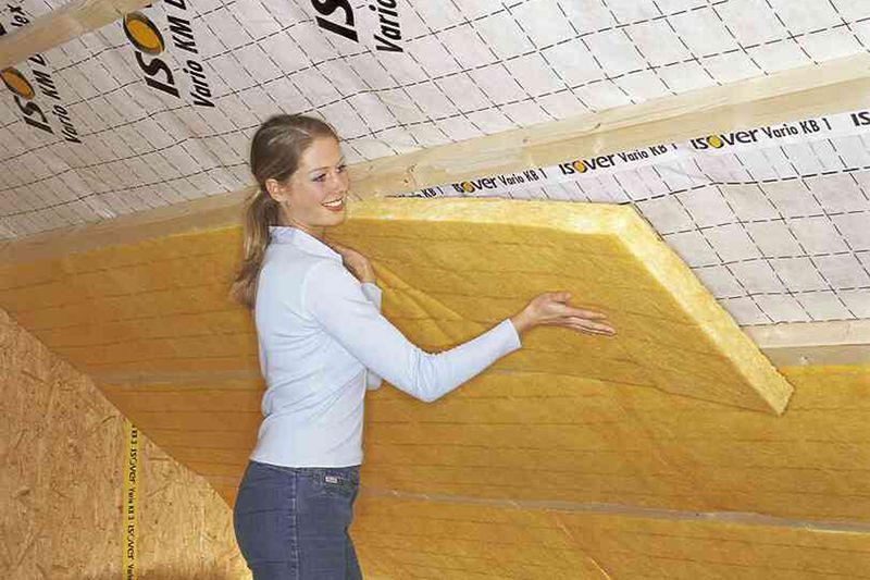 Dämmarten: Mehr Komfort mit Zwischensparren-Dämmung