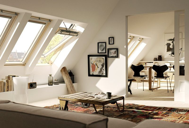 Steildächer eignen sich optimal zur Wohnraumerweiterung