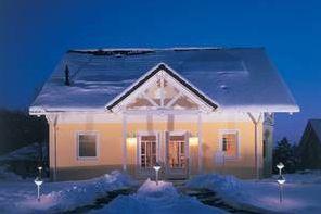 Dämmstoffe: Dämm-Check im Winter: Weiße Dächer sind dicht