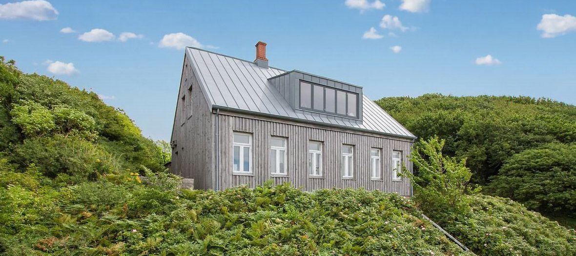 Titanzinkdach auf Bornholm