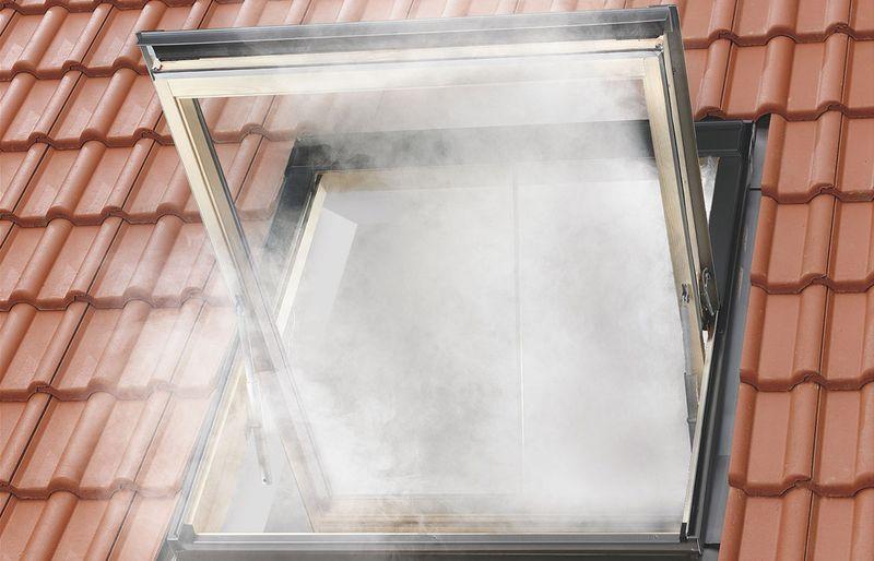 Brandschutz im Dachgeschoss