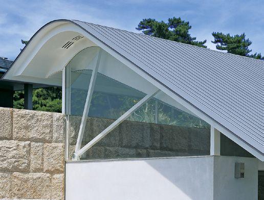 Formenvielfalt beim Dach