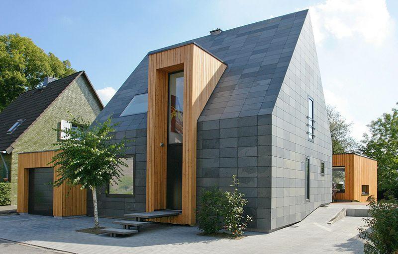 Einfamilienhaus im Schieferlook