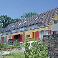 Dachsteine und nachhaltige Architektur