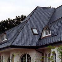 Dach mit Schuppendeckung