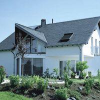 Einfamilienhaus mit Schieferdeckung