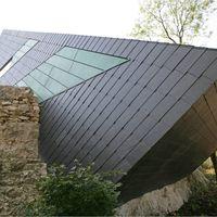 Dach und Fassade aus Schiefer