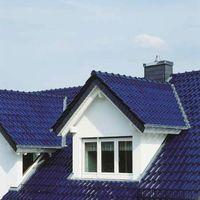 Kristallblaues Dach