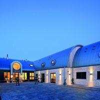 Hotel Strand Sylt bei Nacht