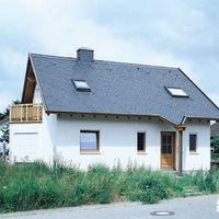 Einfamilienhaus mit Rechteckdeckung