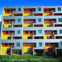 Split-Level-Haus in Wien, Österreich