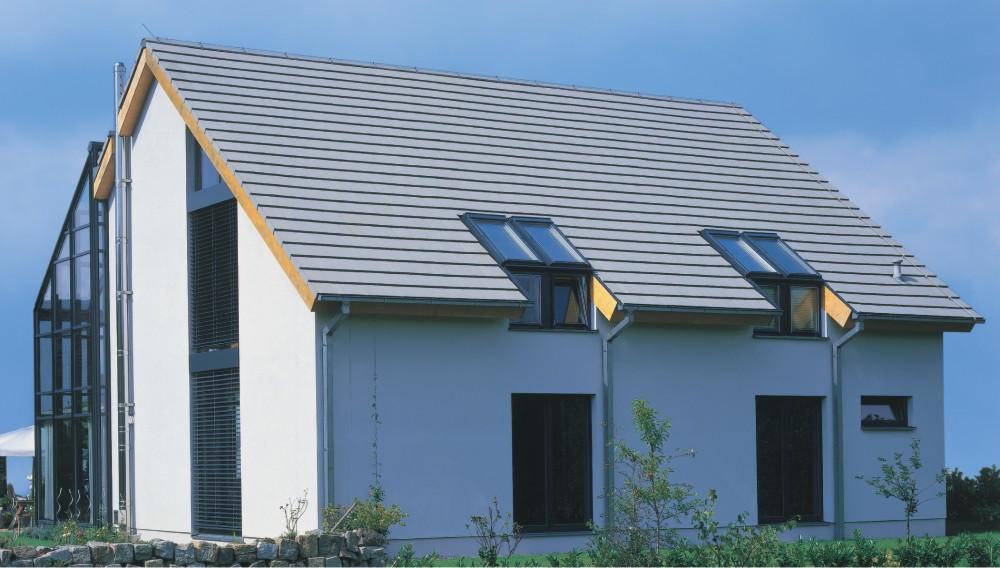 Das Dach Wurde Mit Modernen: Dachpfannen In Vielen Variationen