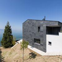 Rundherum beeindruckend - Schieferhaus am Genfer See