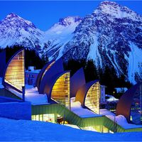 Tschuggen Bergoase in Arosa, Schweiz