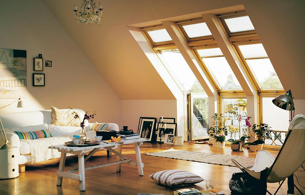 wohnzimmer unterm dach top tipps f r mehr raumvergn gen. Black Bedroom Furniture Sets. Home Design Ideas