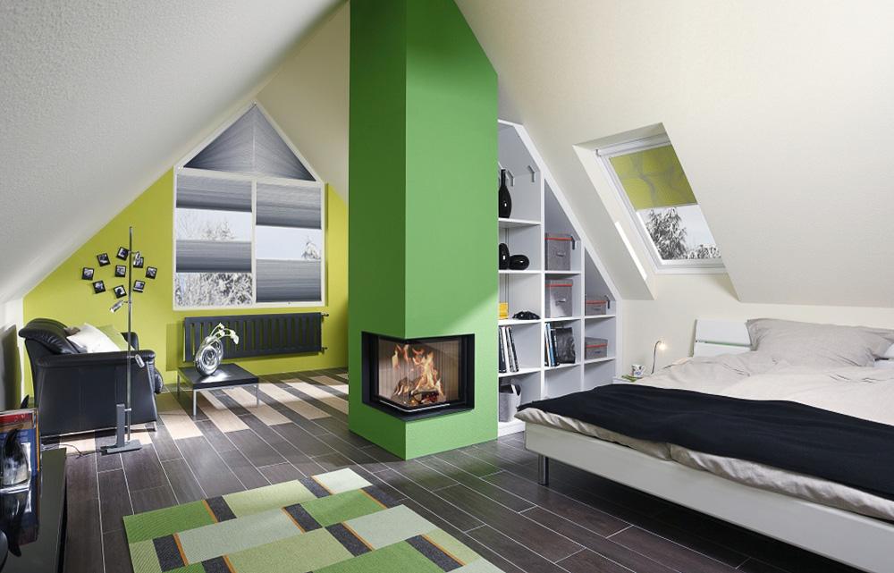 ein dachausbau schafft neuen wohnraum. Black Bedroom Furniture Sets. Home Design Ideas