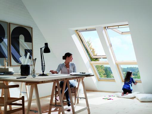 Arbeitszimmer gestaltungsmöglichkeiten  Mit Trockenmauern schnell Räume schaffen - Dachausbau